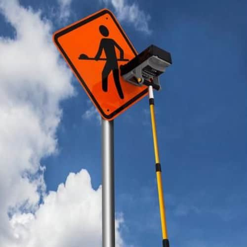 Easylux Mini Reflector for Vertical Signs Safety Clothing