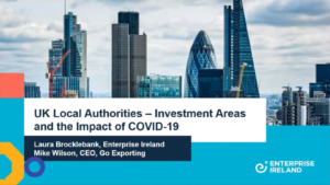 UK Local Authorities Investment Areas and the Impact of COVID-19